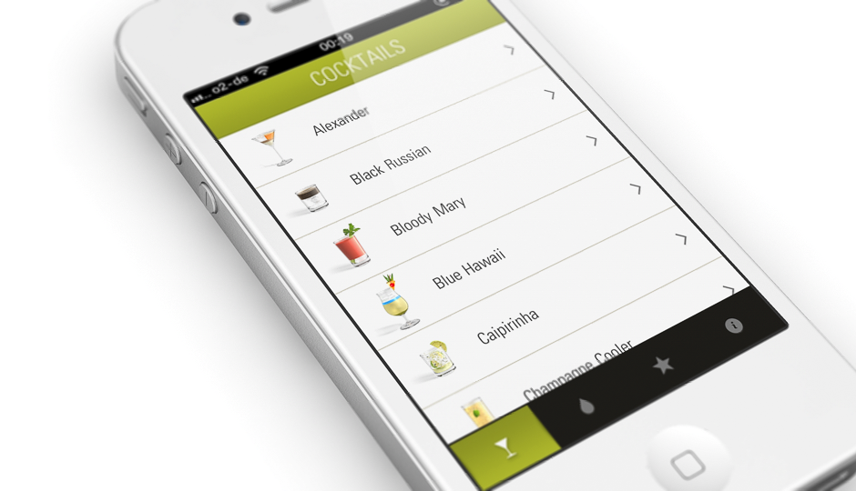 for App cocktail